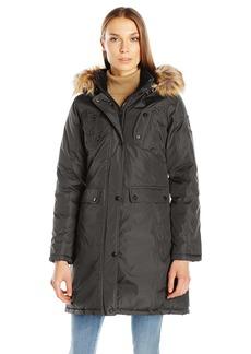 Madden Girl Women's Multi Pocket Insulated Coat  M