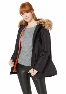 Madden Girl Women's Nylon Fashion Anorak Jacket  M