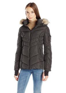 Madden Girl Women's Puffer Jacket
