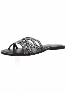 Madden Girl Women's SUNDAAY Slide Sandal   M US