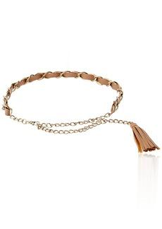 Madden Girl Women's Tassel Chain Belt  Medium/Large