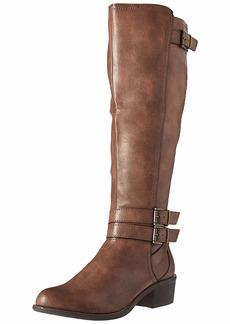 Madden Girl Women's Warner Equestrian Boot   M US