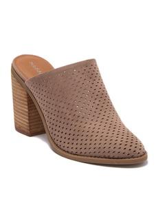 Madden Girl Mila Perforated Block Heel Mule