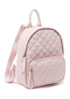 Madden Girl Quilted Mid Backpack