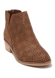 Madden Girl Tally Perforated Bootie