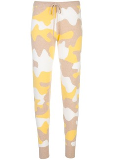 Madeleine Thompson camouflage knitted joggers