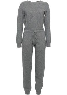 Madeleine Thompson Woman Lupine Wool And Cashmere-blend Jumpsuit Anthracite