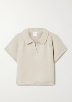 Madeleine Thompson Ryan Cropped Cashmere Sweater
