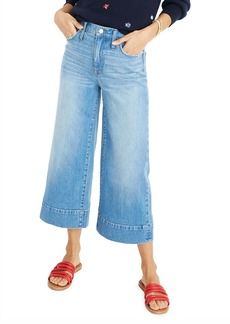 Madewell 10 High-Rise Wide-Leg Crop Jeans