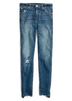 Madewell 10-Inch Drop Step Hem High Waist Skinny Jeans (Everton)