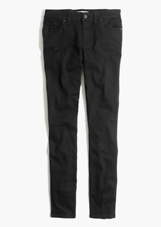 "8"" Skinny Jeans in Black Frost"