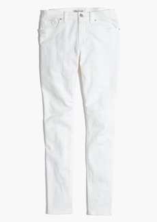 """8"""" Skinny Jeans in Pure White"""