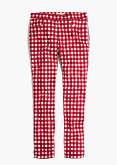 """9"""" High-Rise Skinny Crop Jeans: Gingham Edition"""