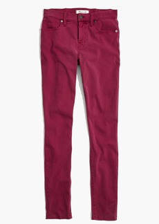 "9"" High-Rise Skinny Jeans: Garment-Dyed Edition"