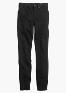 """9"""" High-Rise Skinny Jeans in Black Frost"""