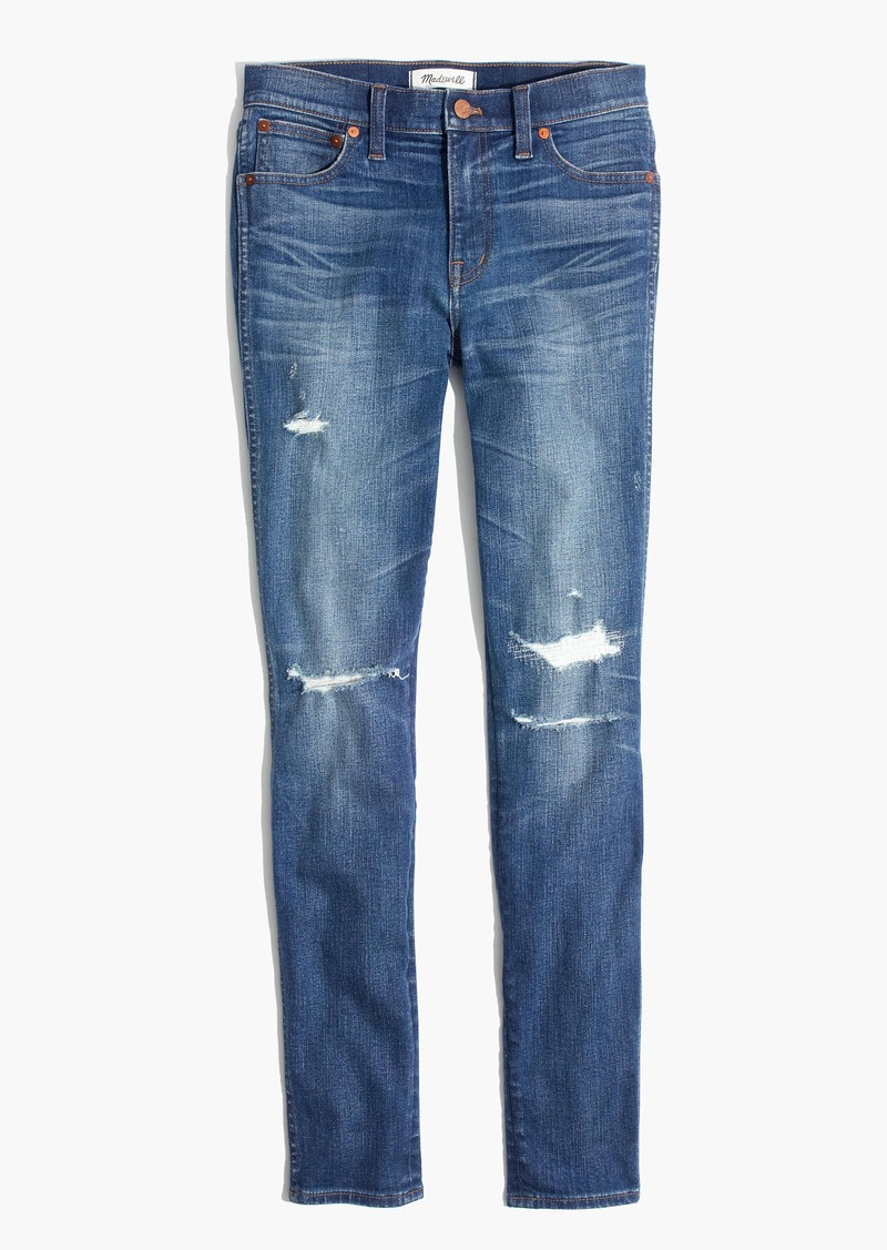 """Madewell 9"""" High-Rise Skinny Jeans: Rip and Repair Edition"""