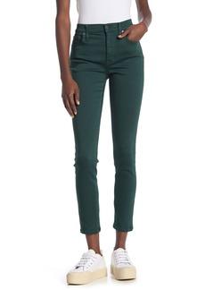 "Madewell 9"" High Rise Skinny Sateen Jeans"