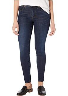 "Madewell 9"" Mid-Rise Skinny Jeans in Larkspur Wash: TENCEL™ Denim Edition"