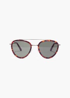 Madewell Acoustic Aviator Sunglasses