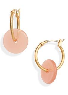 Madewell Acrylic Mini Hoop Earrings