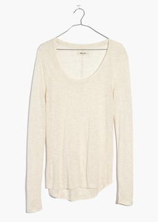 Madewell Anthem Scoop Long-Sleeve Tee
