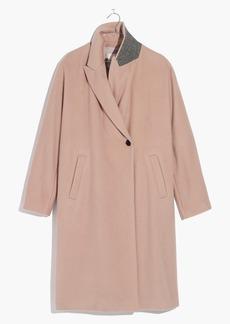Atlas Cocoon Coat in Avalon Pink