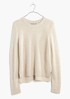Madewell Backroad Button-Back Sweater