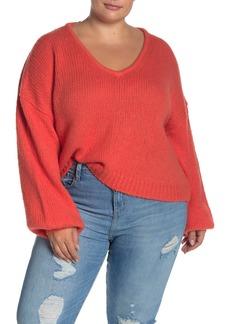 Madewell Balloon Sleeve Pullover Sweater (Regular & Plus Size)