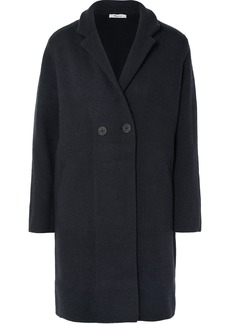 Madewell Bellflower Double-breasted Wool-blend Coat