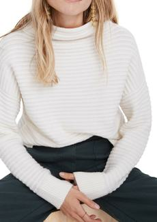 Madewell Belmont Mock Neck Sweater (Regular & Plus Size)