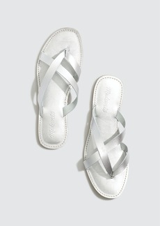 Madewell Boardwalk Liv Sandal Metallic - 6 - Also in: 9/5, 7/5, 11, 5/5, 6/5, 9, 8, 7, 8/5, 10