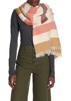 Madewell Bold Stripe Blanket Square Scarf