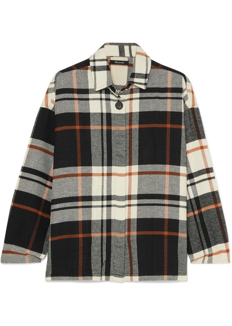 Madewell Bromley Checked Cotton-flannel Shirt