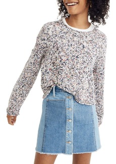 Madewell Brownstone Flecked Sweater