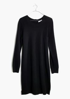 Button-Back Sweater-Dress