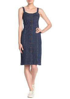 Madewell Button Front Denim Dress