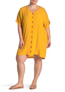 Madewell Button Front Easy Dress (Regular & Plus Size)