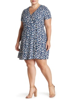 Madewell Button Wrap Dress (Regular & Plus Size)