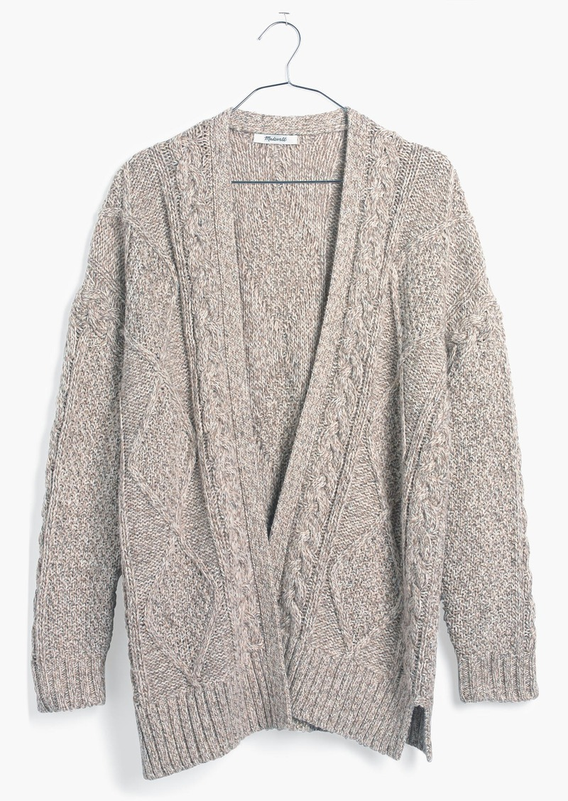 Madewell Cableknit Cardigan Sweater