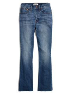 Madewell Cali Back Seam Demi Boot Jeans (Kemper)
