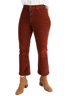 Madewell Cali Corduroy Demi Boot Cut Jeans (Regular & Plus Size)