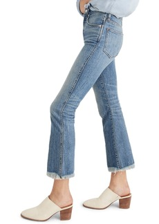 Madewell Cali Demi Boot Jeans (Barlow)