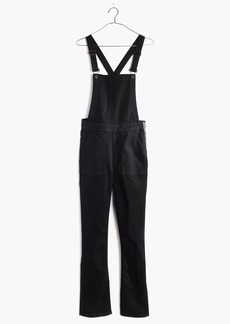 Madewell Cali Demi-Boot Overalls in Black Frost