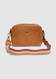 Madewell Camera Bag With Wavy Colorblock Lizard Strap - ONE SIZE FITS ALL