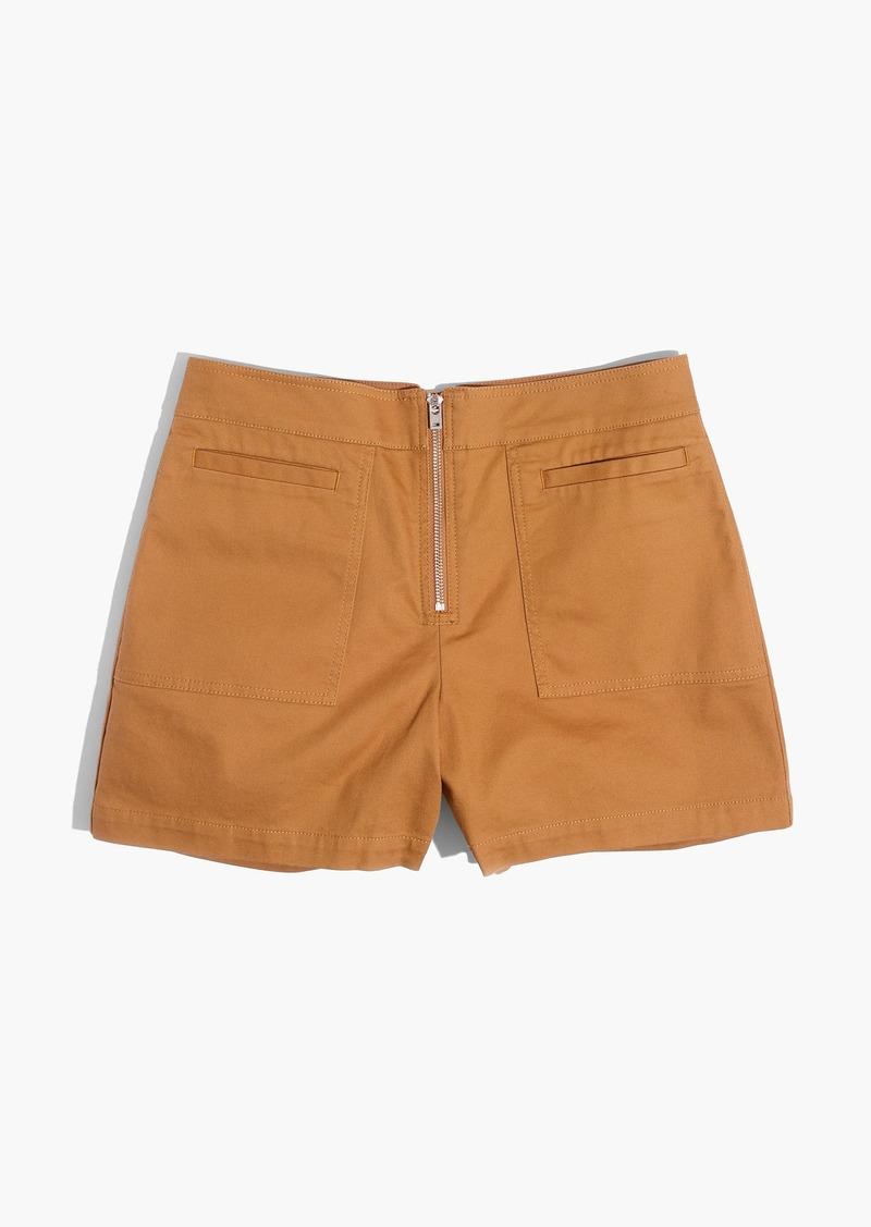 Madewell Camino High-Rise Shorts
