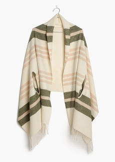 Madewell Cape Scarf in Valeria Stripe