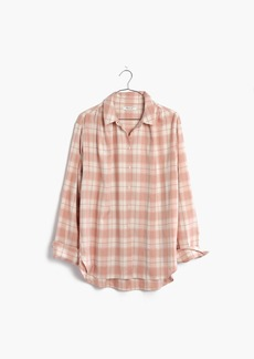Madewell Central Long-Sleeve Shirt in Danville Plaid