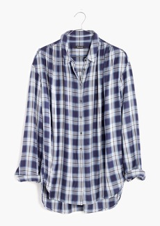 Madewell Central Long-Sleeve Shirt in Lansford Plaid