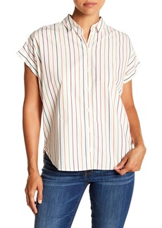 Madewell Central Sadie Multi-Stripe Shirt