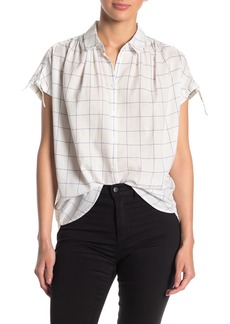 Madewell Central Tie Sleeve Shirt